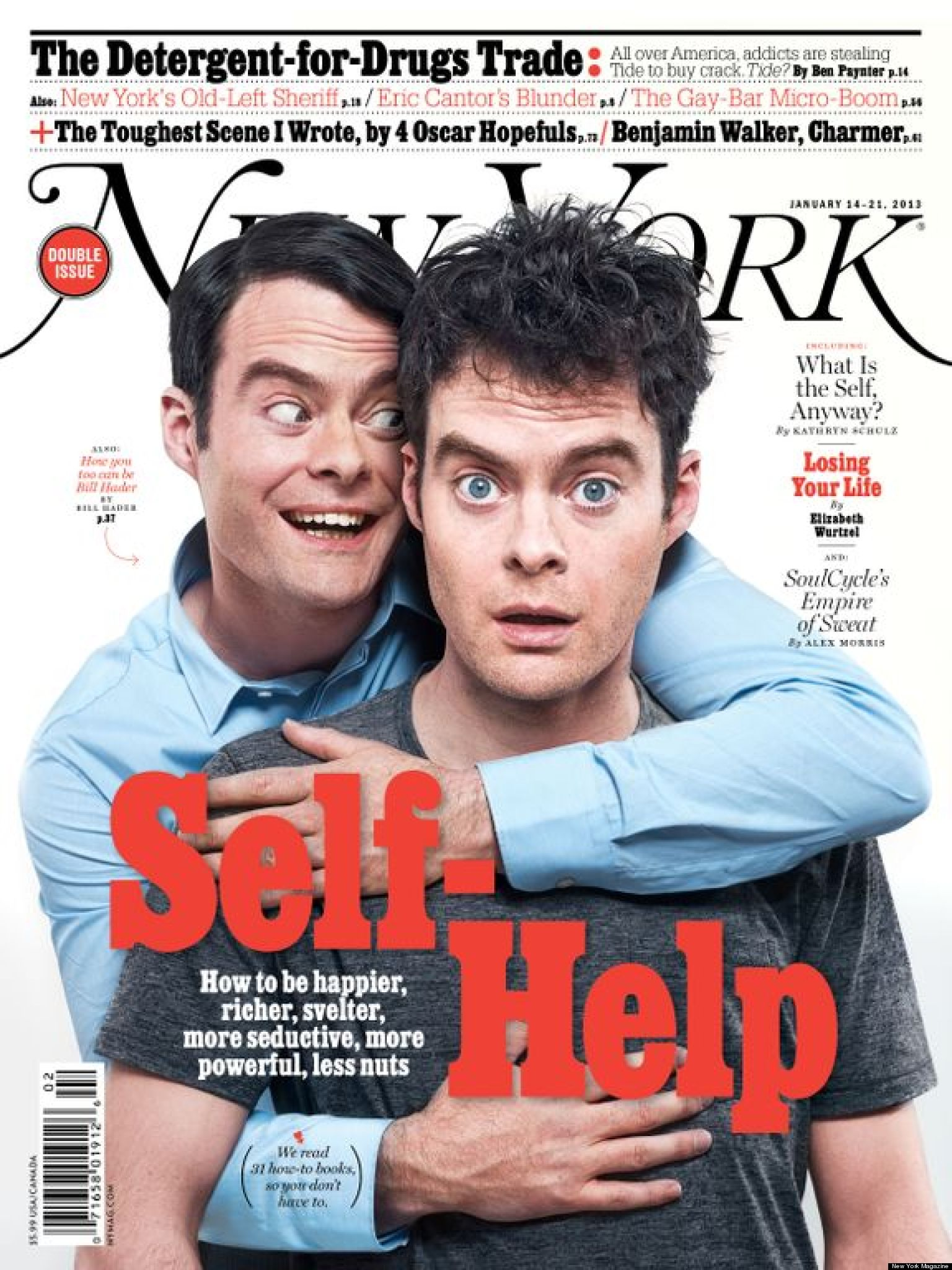 Bill Hader Graces Cover Of New York Magazine's Self-Help