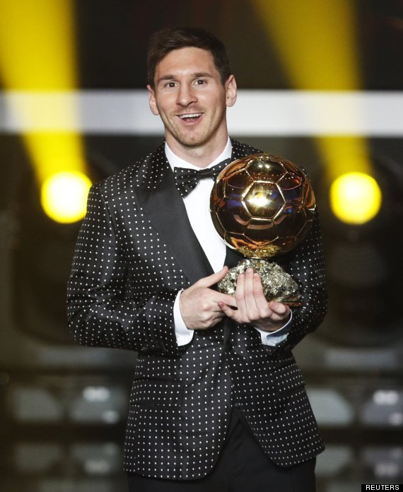 messi balon oro