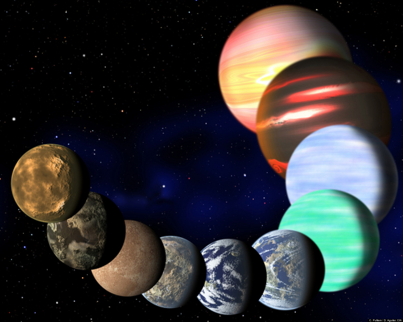 3d milky way planets - photo #30