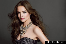 Breaking News: Katie Holmes Wears Distracting Necklace In Bobbi Brown's First Celebrity Campaign