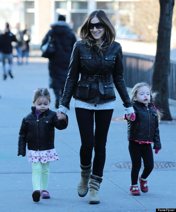 sarah jessica parker twin daughters