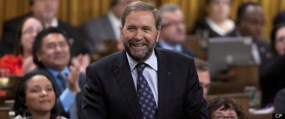 NDP POLL THOMAS MULCAIR