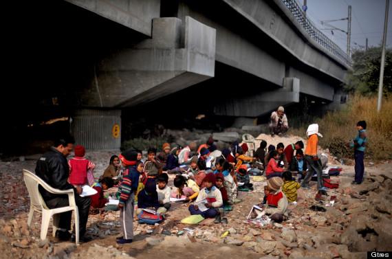 niños puente