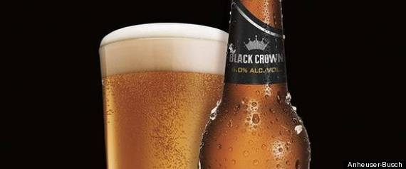 BUDWEISER BLACK CROWN BEER