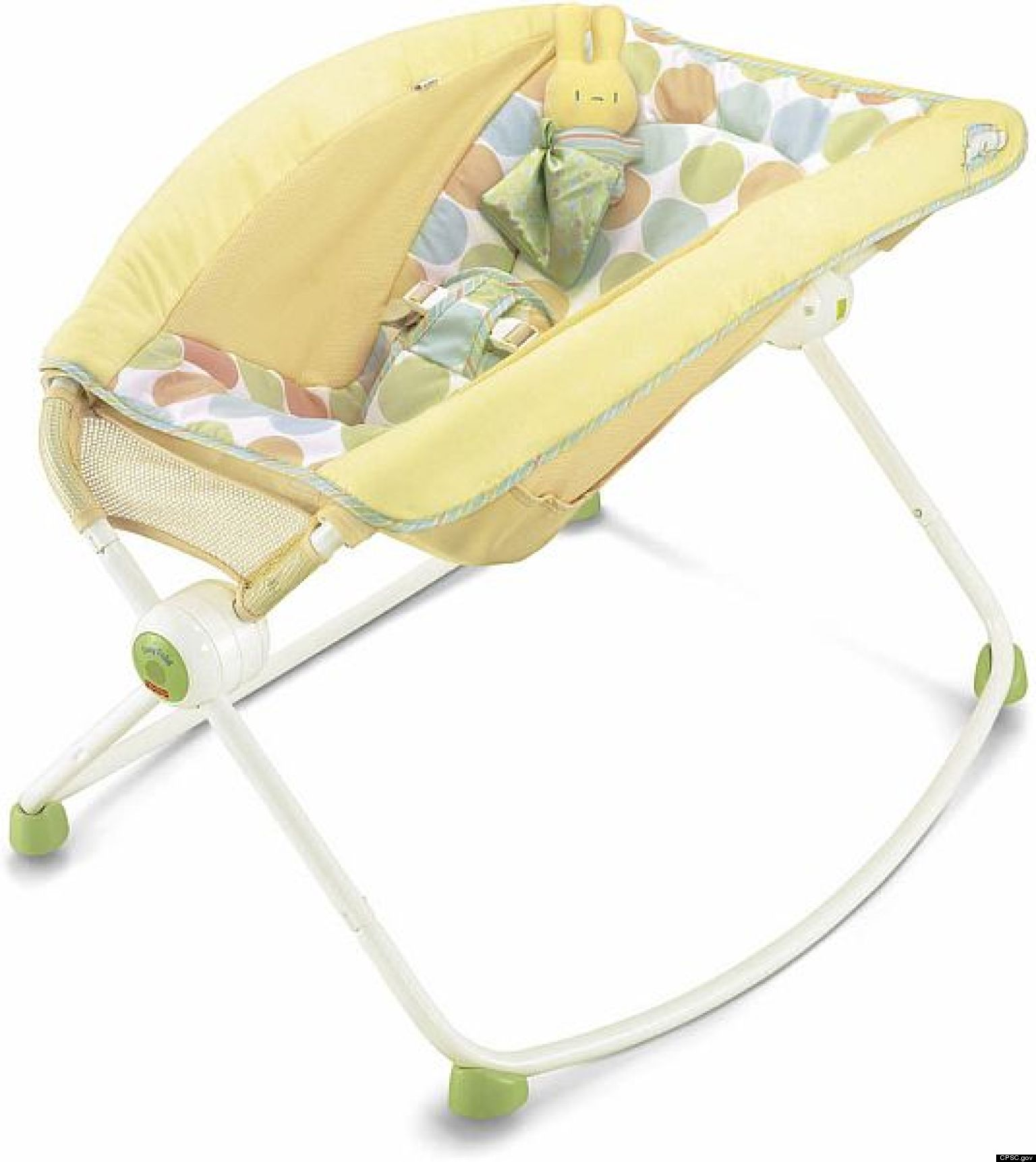 Baby supplies fisher price newborn rock n play bassinet for Portable bassinet