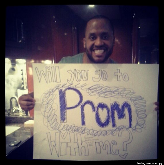 Justin Bieber's Bodyguard, Posts Promposal Photo On Instagram (LOOK