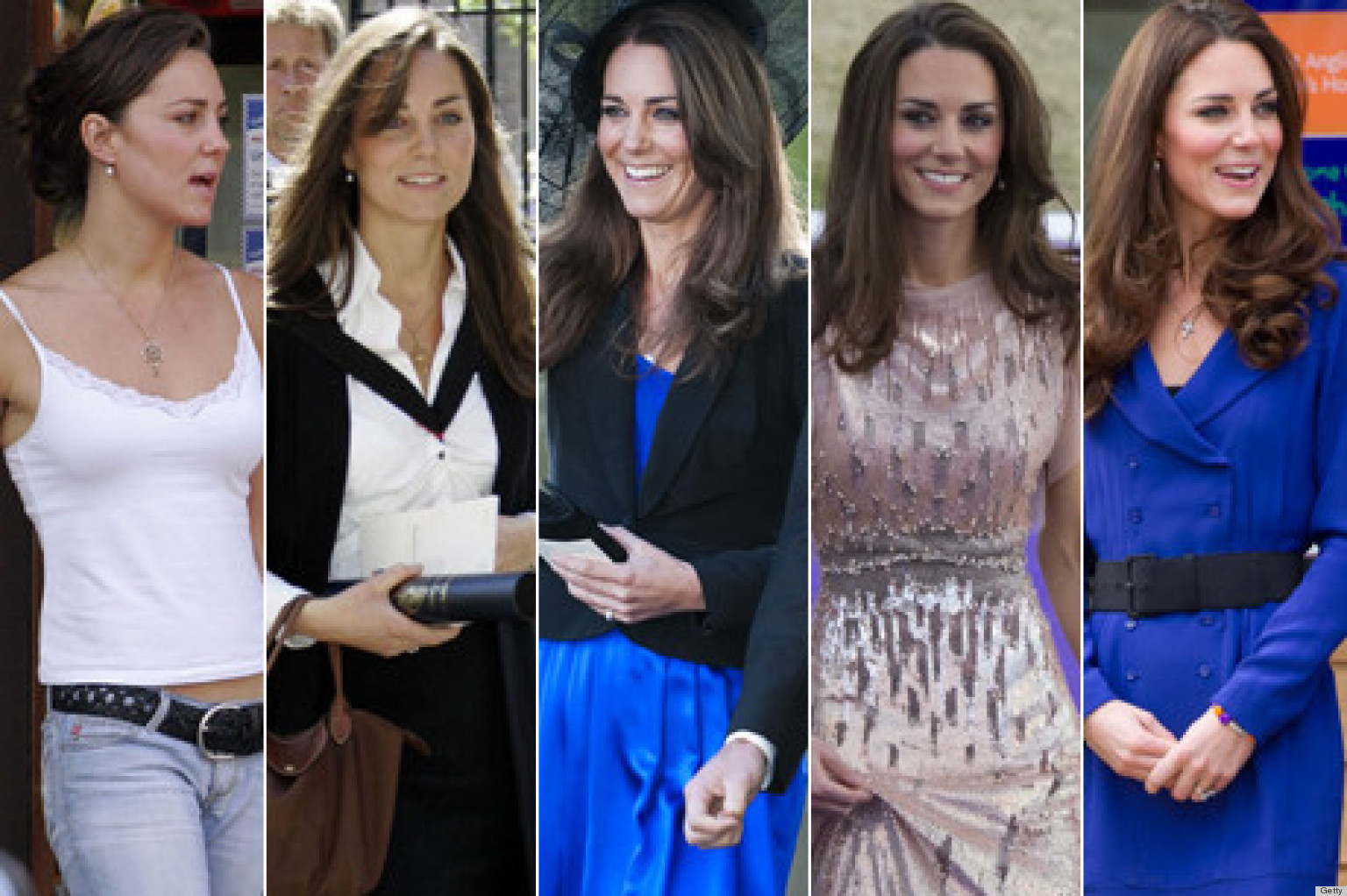 O KATE MIDDLETON STYLE EVOLUTION Facebook