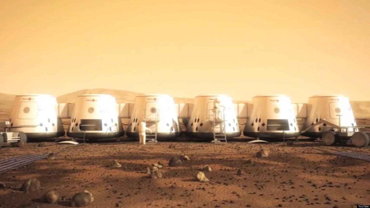 More than 100000 people want to fly to Mars in 2022  and
