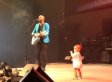 Baby Crashes Dad's Concert (VIDEO)
