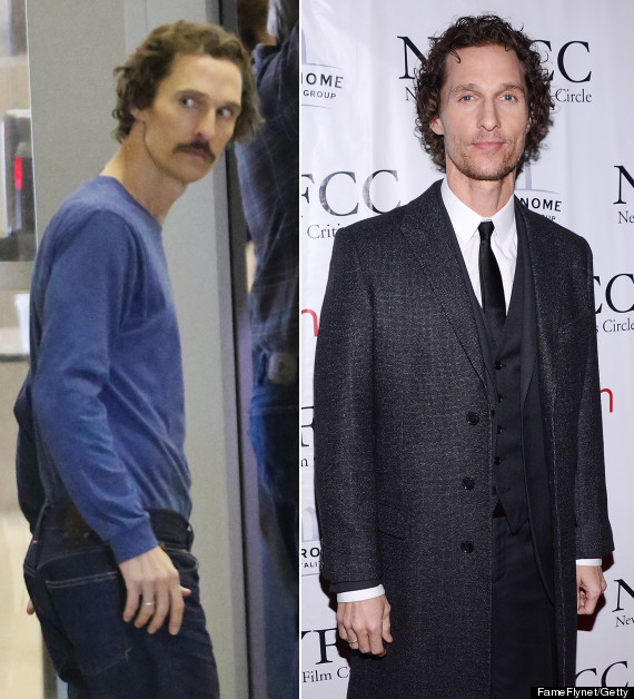 matthew mcconaughey weight gain