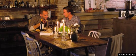 Crate Amp Barrel Features Gay Couple In January Inspiration