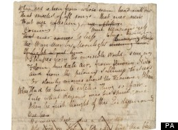 Hand-Written Keats Poem To Auction For £45,000