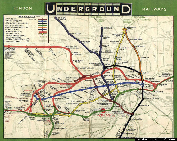 tube underground map