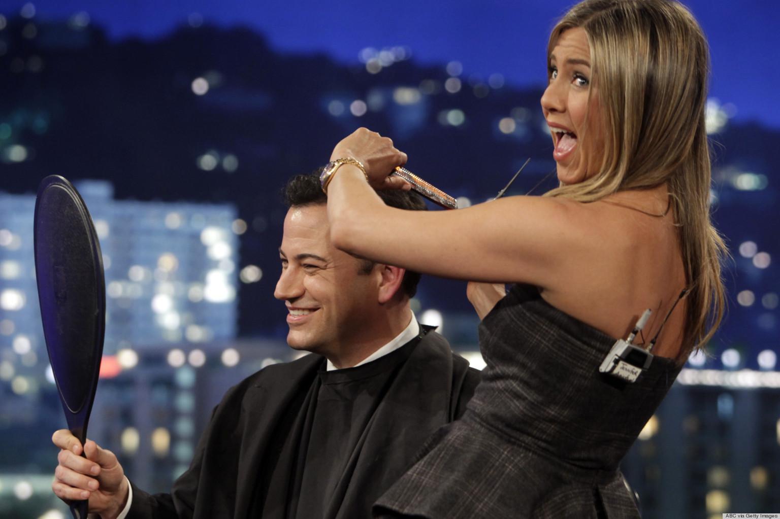 Jimmy Kimmel jennifer aniston
