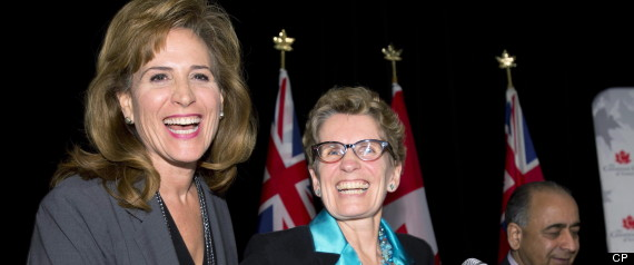ONTARIO LIBERALS DEBATE LEADERSHIP