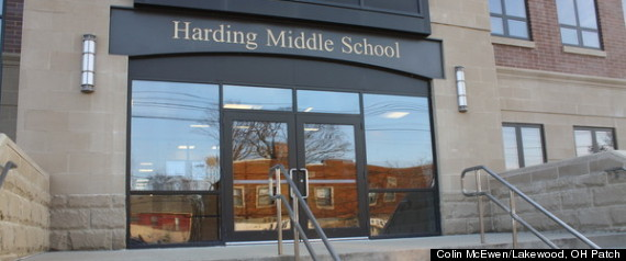 ... Middle School in Steubenville, Ohio. | Colin McEwen/Lakewood, OH Patch