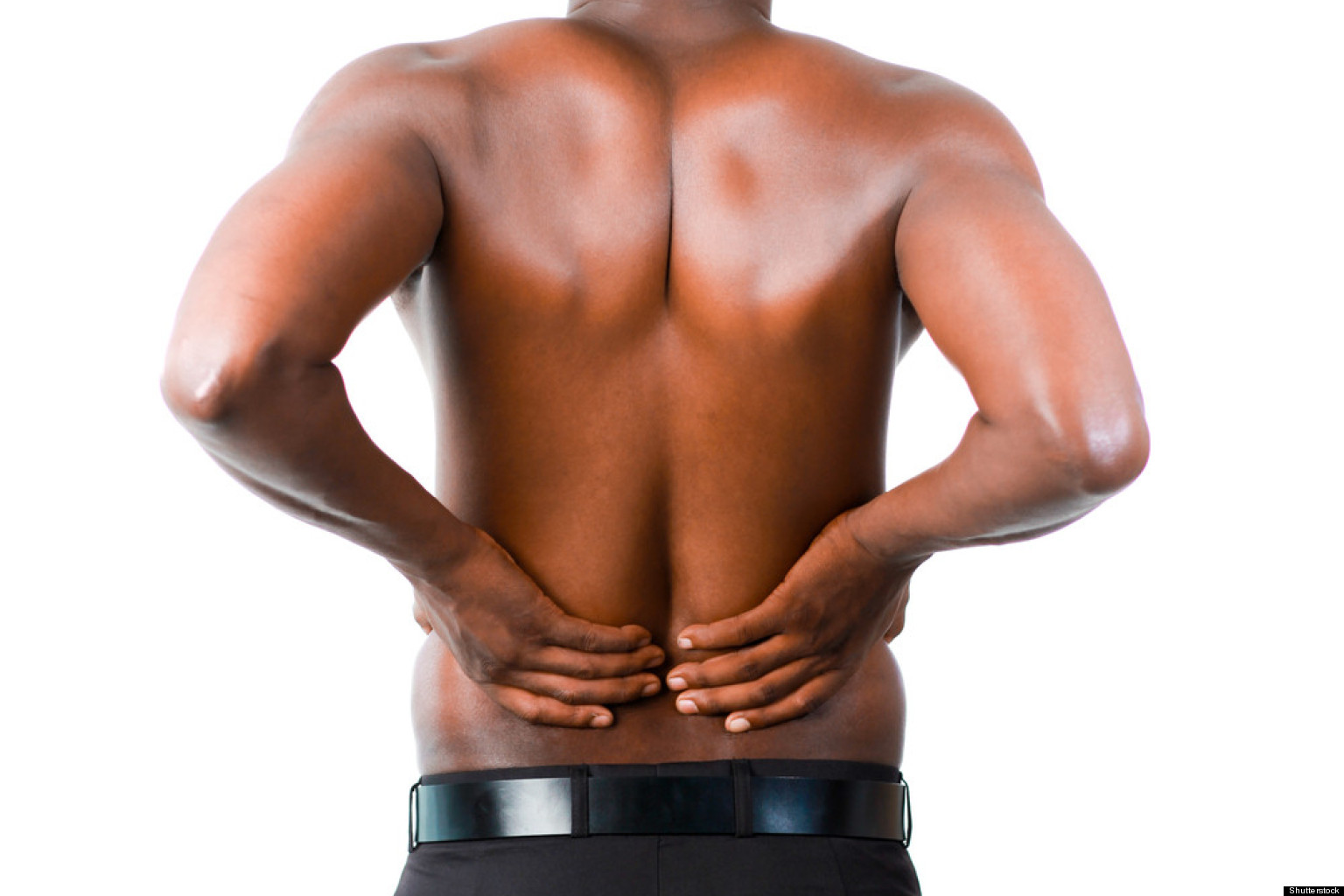 Low back pain muscle growth