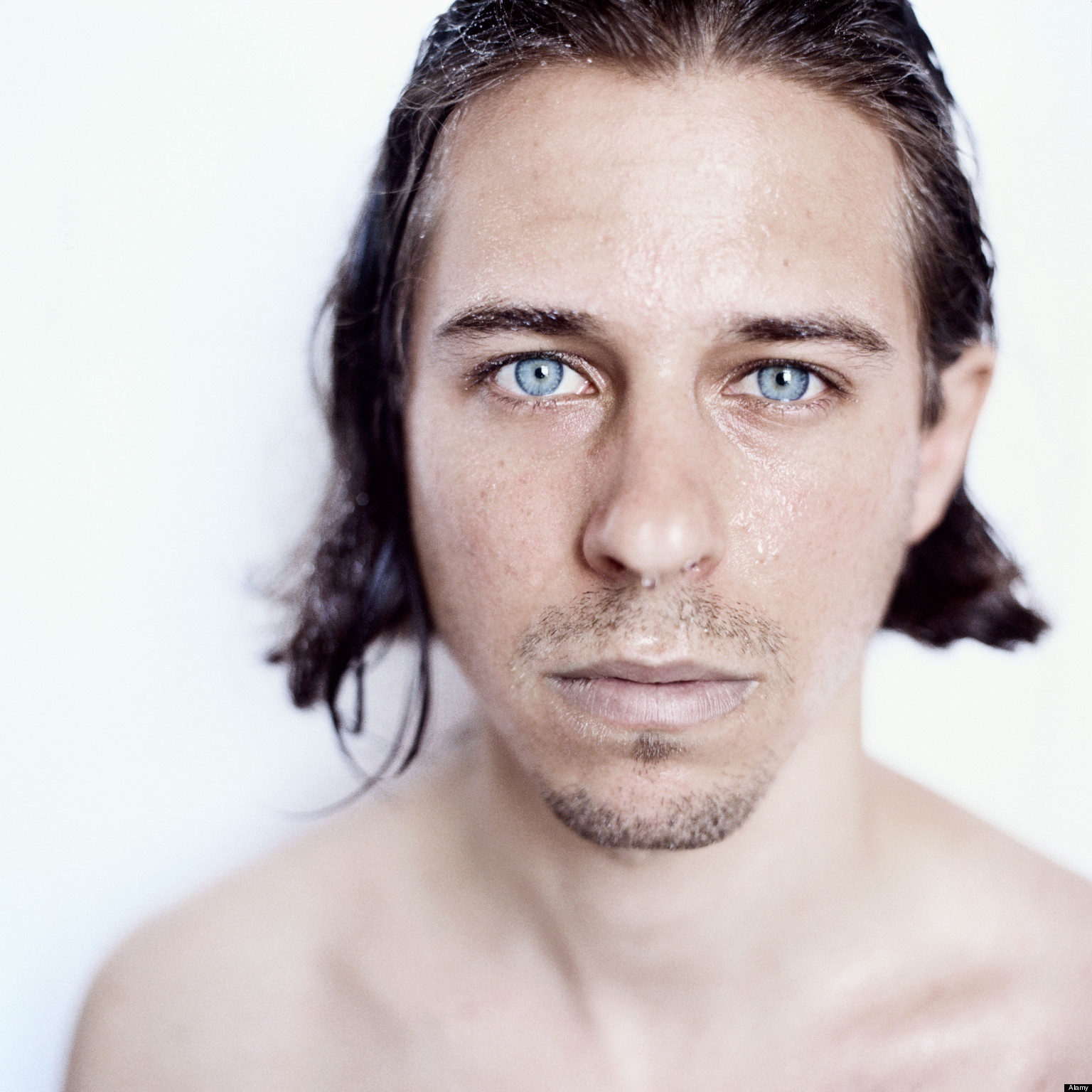 Men With Cold Blue Eyes And Thin Faces Seen As Less