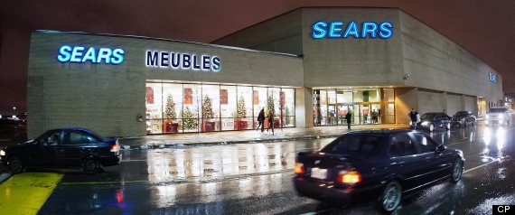 Sears Canada Same Store Sales