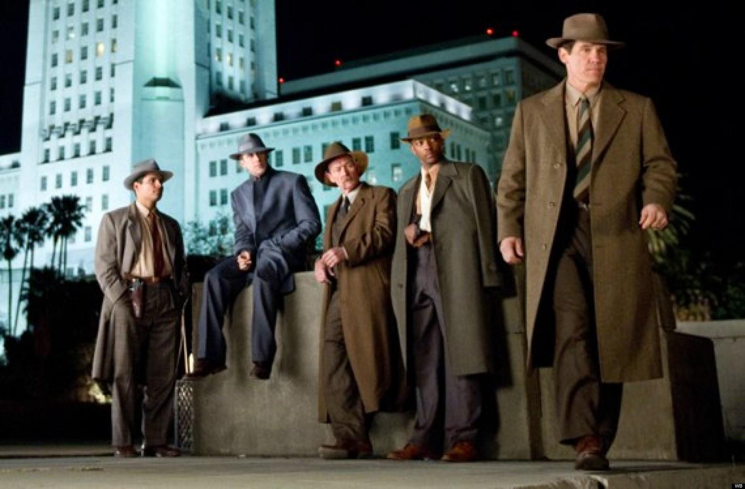 review  gangster squad