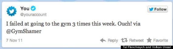 gym shamer