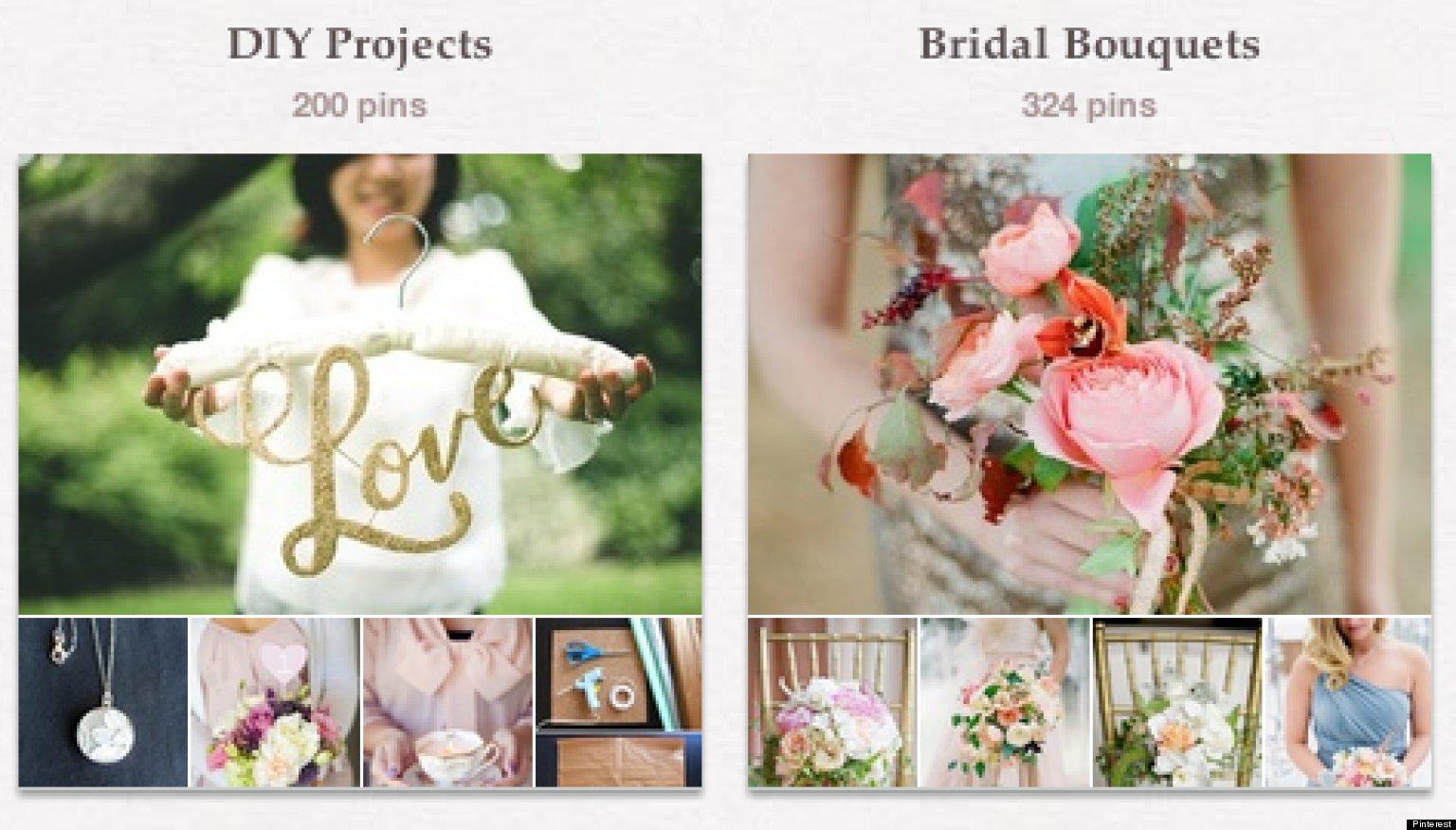 ways pinterest wedding business