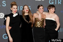 Lena Dunham Launches New Girls Season (And Rescues Dog In The Same Day)