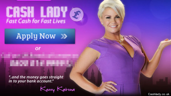 kerry katona cash lady