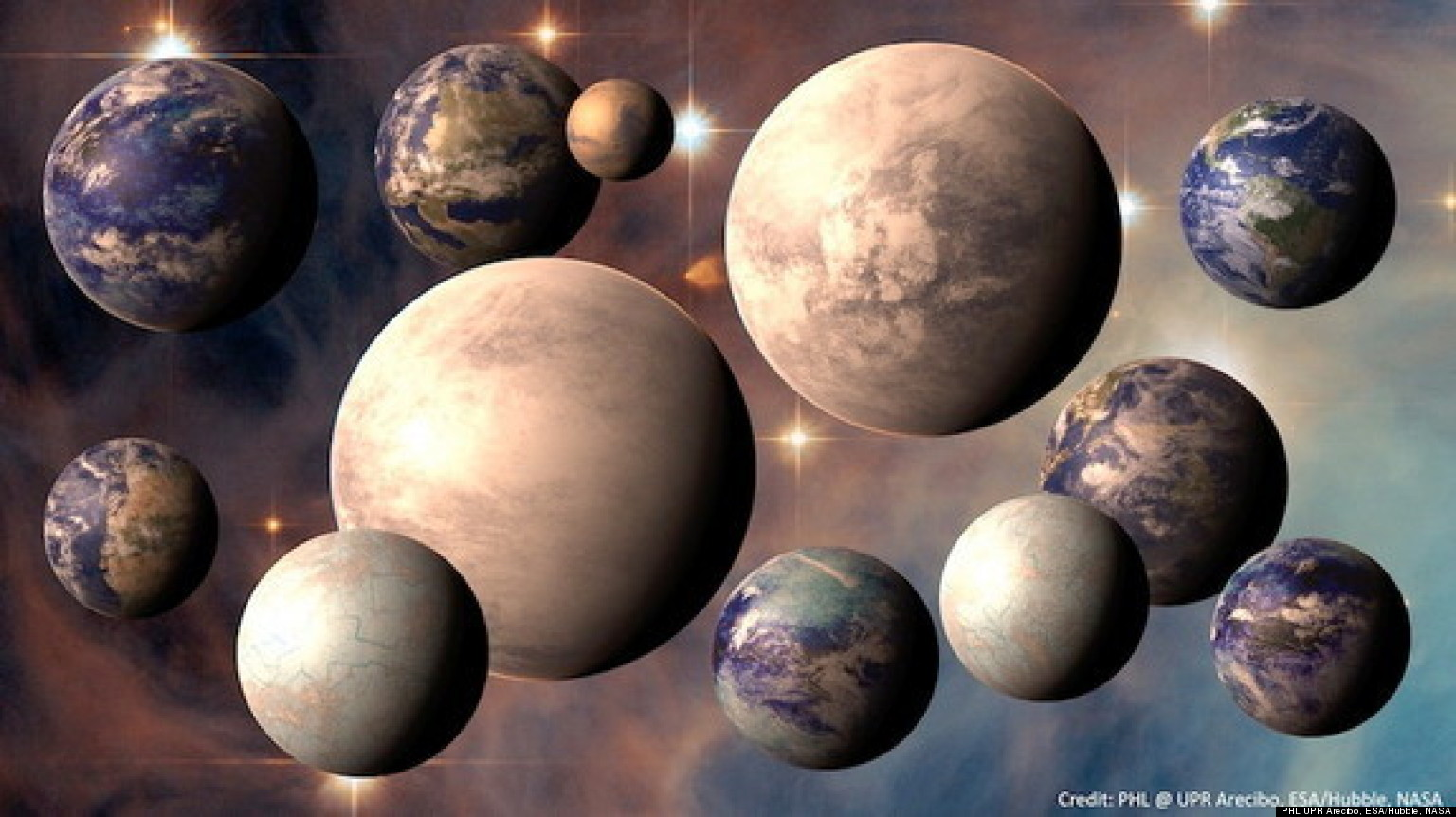 Earth-Like Alien Planet May Be Good Candidate For Hosting ...