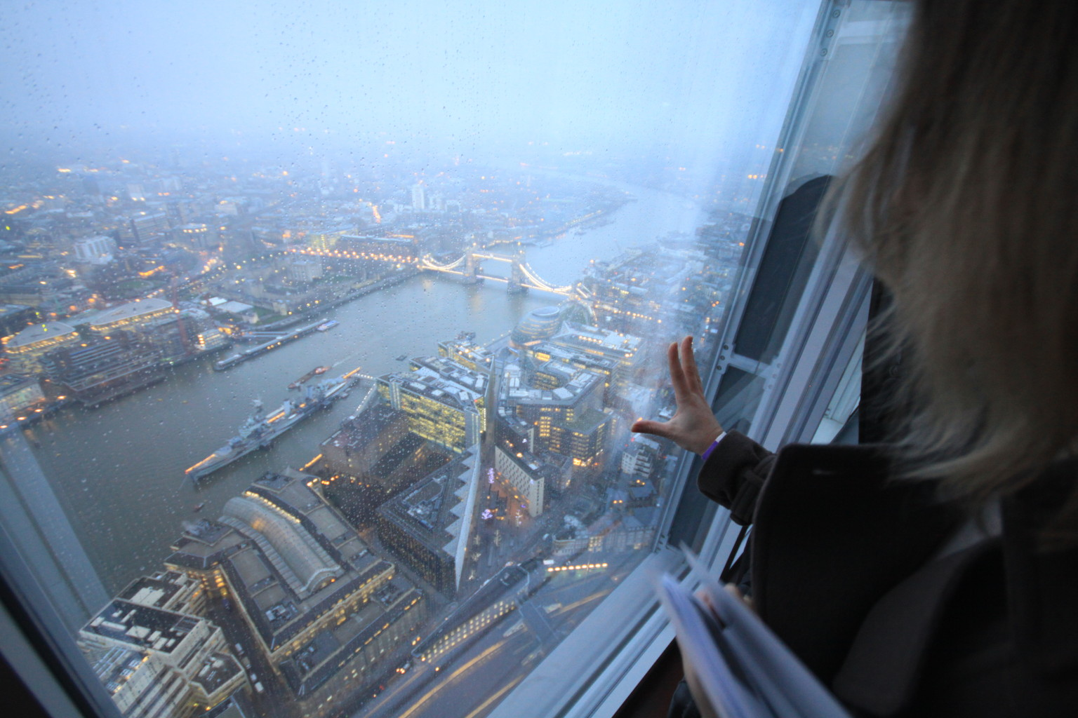 The View From The Shard Offers A Spectacular Experience
