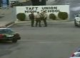 Taft High School Armed Guard Was 'Snowed In,' Not Present During Shooting