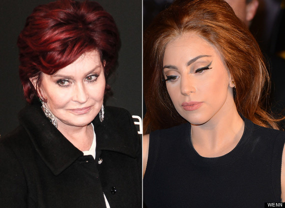 sharon osbourne lady gaga