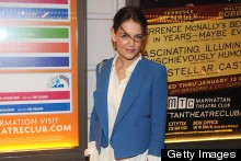 Katie Holmes Keeps Her Style Low-Key For The Other Place Opening Night