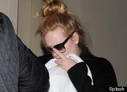 Adele Breaks Cover
