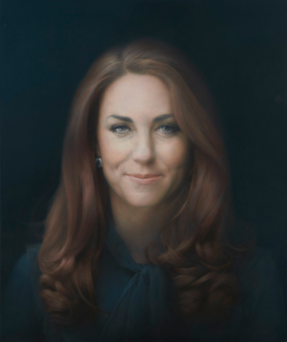 retrato oficial kate middleton