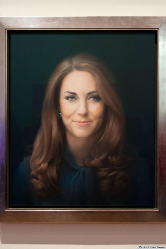 kate middleton portrait