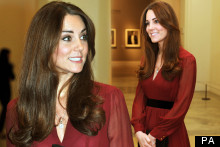 Radiant! Kate Middleton's Baby Bump Starts To Show