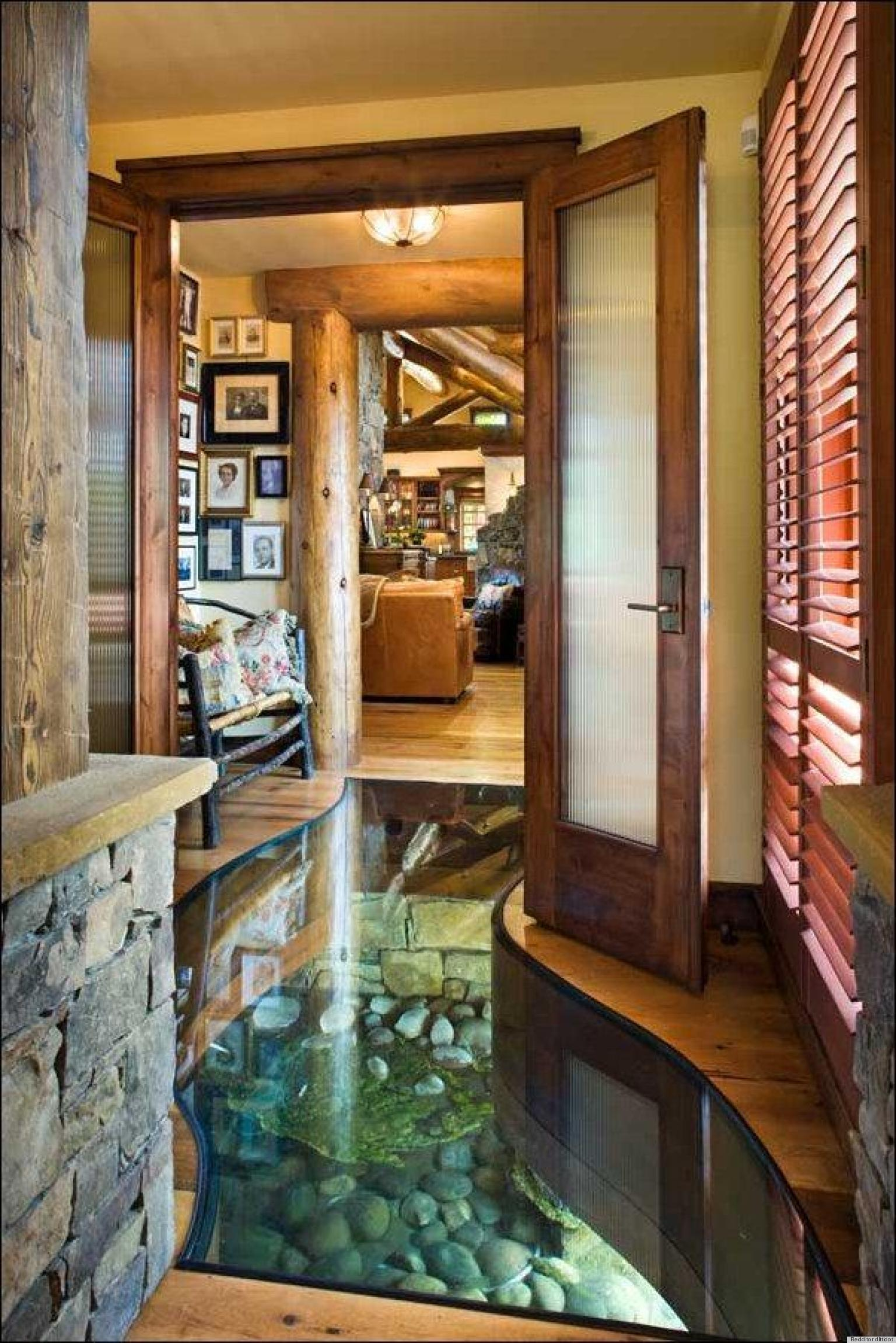 A River Runs Through A Home And It 39 S Totally Ok Photo