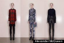 Killer Collection: McQ Alexander McQueen Pre-Fall Autumn/ Winter 2013