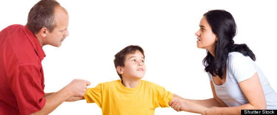 hijos padres divorciados