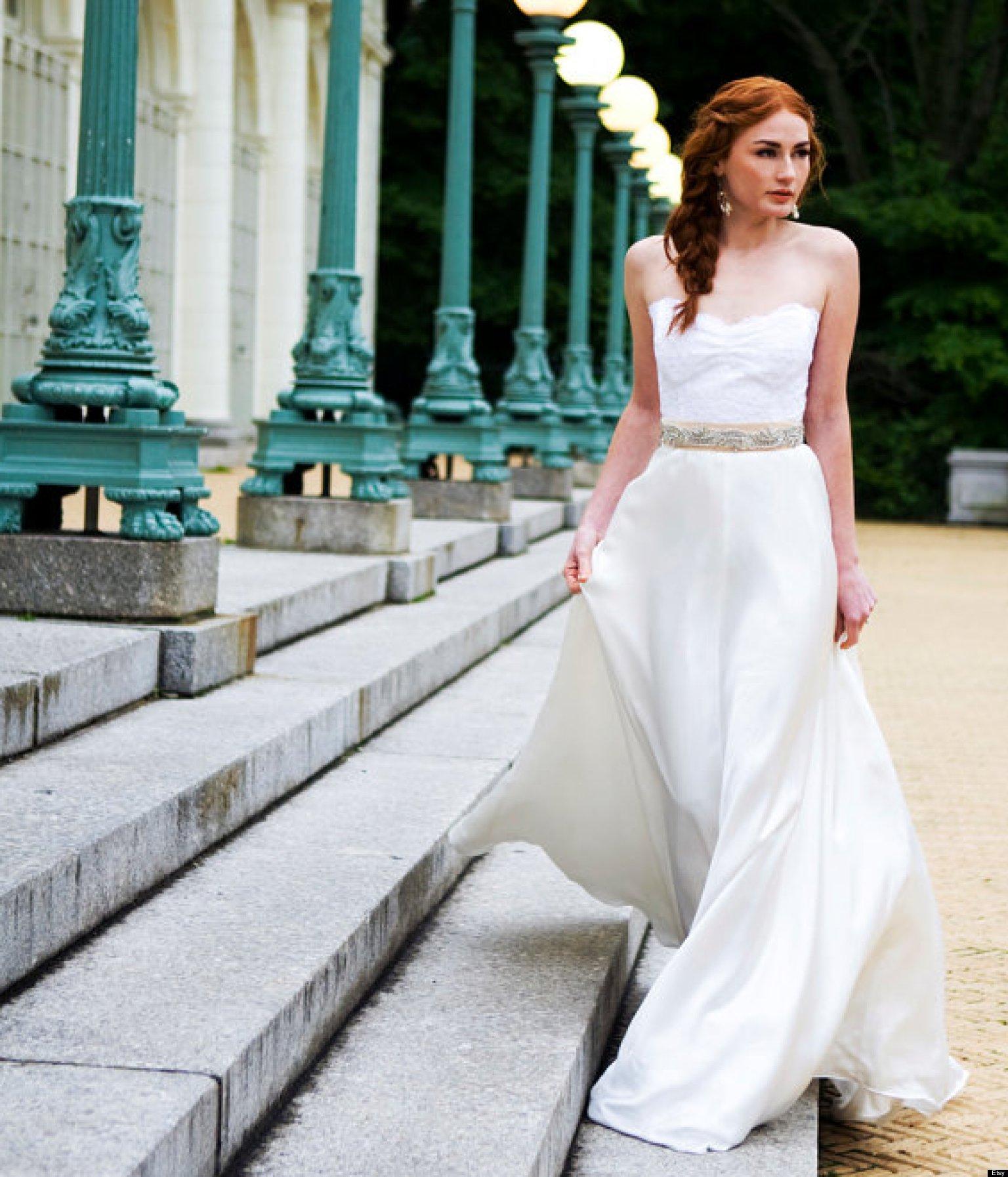 wedding bridal fashion unconventional dresses