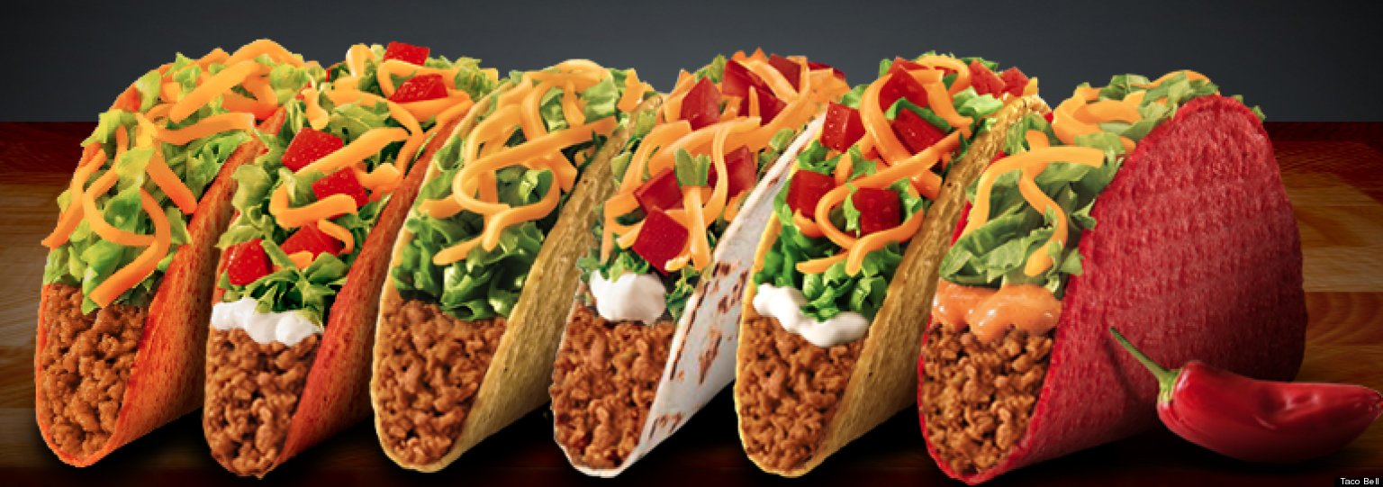 Taco Bell Combo Menu Prices Taco Bell '$1 Cravings' Menu