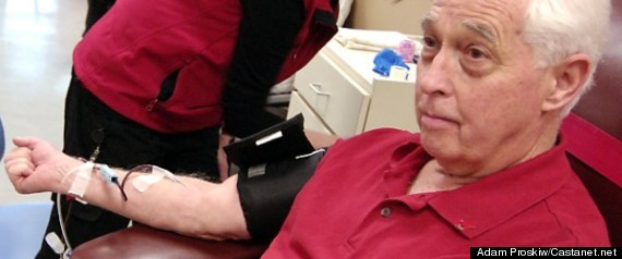Ken Davies Blood Donation