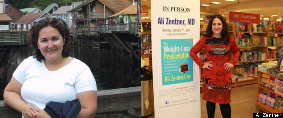Ali Zentner Weight Loss
