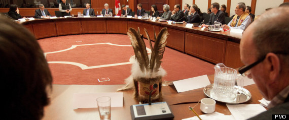 FIRST NATIONS HARPER MEETING