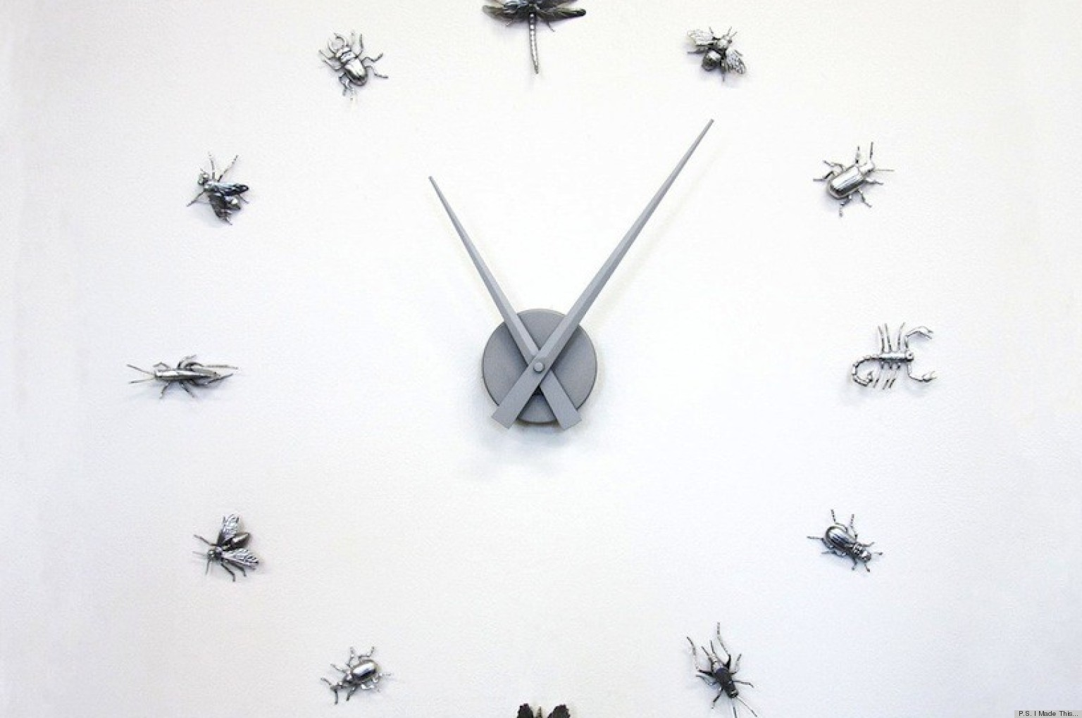 Diy Clock Diy Clock Inspired By Marc Jacobs Accessories Huffpost