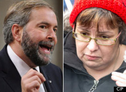 Tom Mulcair Theresa Spence