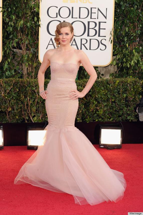 Amy Adams Golden Globes Dress 2013 See Her Red Carpet