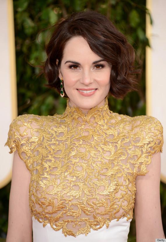 ... Dockery Golden Globes Dress 2013: See Her Red Carpet Look! (PHOTOS