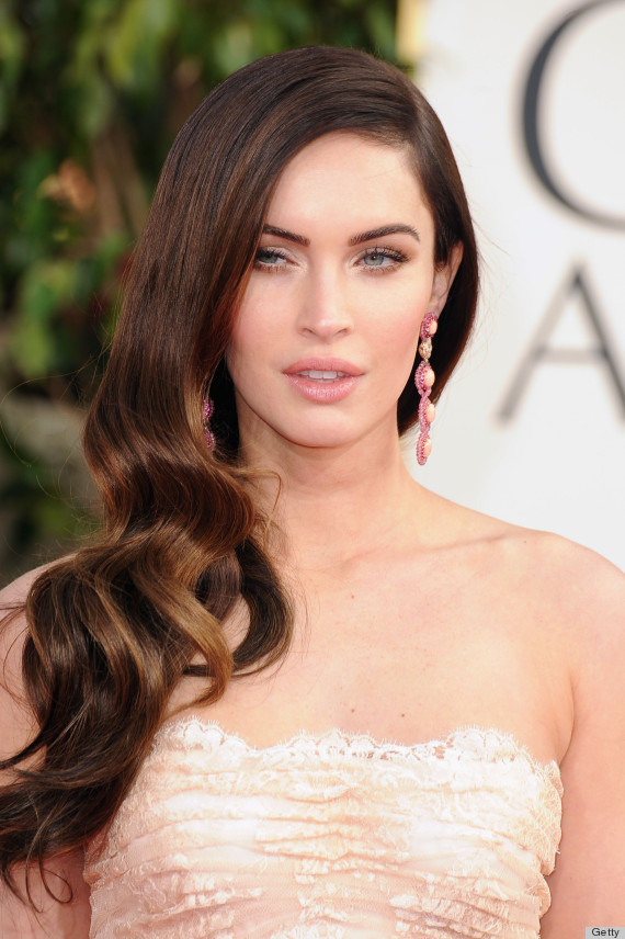 megan fox golden globes 2013 see her gorgeous gown